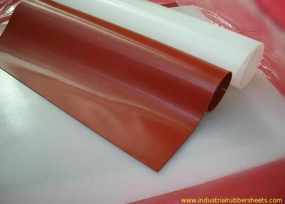 China Categoría alimenticia 100% translúcida de Rolls de la hoja de la goma de silicona de la Virgen sin el olor distribuidor