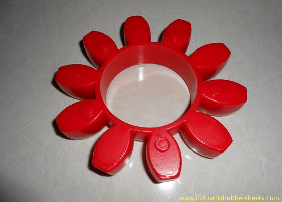 China Desgaste - el acoplamiento rojo resistente del poliuretano, 98 apuntala un acoplamiento de GR o de la PU distribuidor