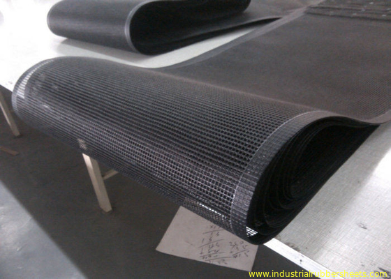 China PTFE polyester mesh fabric , PTFE polyester mesh fabric for conveyor belt / griddling cloth, made by PTFE coated fábrica